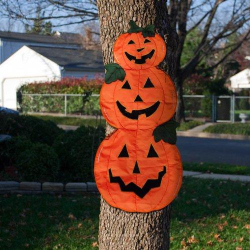 Pumpkin Trio Tree Wrap