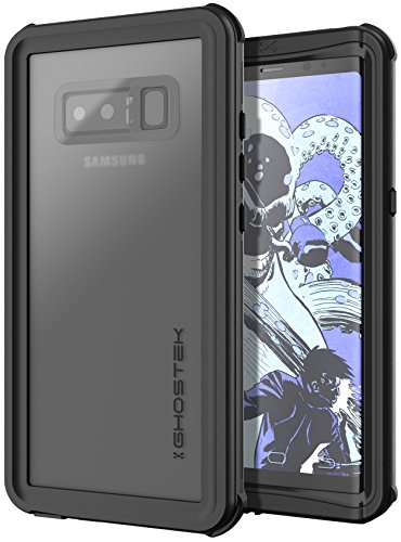 Ghostek Nautical Heavy Duty Waterproof Case Compatible with Galaxy Note 8 - Black