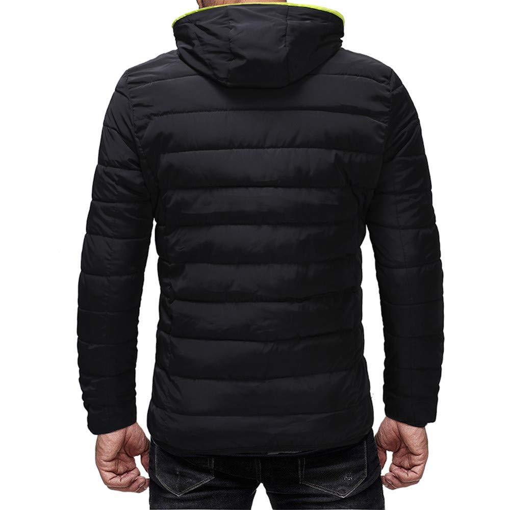 8fbcce381fb70e Komise Herren Winter Warm Lässig Reißverschluss Dicker Fleece Mantel  Baumwolle gefütterte Jacke Jacken, Mäntel & Westen Herren