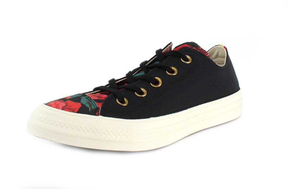 Converse Womens Chuck Taylor All Star-Ox Sneaker B078NKRJZZ 6.5 M US|Black/Cherry