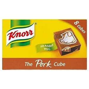 Knorr Pork Stock Cubes 8 Pack 50g