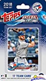 Toronto Blue Jays 2018 Topps Baseball EXCLUSIVE Special Limited Edition 17 Card Complete Team Set with Josh Donaldson, Kendrys Morales & Many More Stars & Rookies! Shipped in Bubble Mailer! WOWZZER!