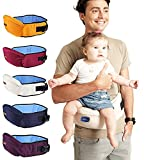 Cheap Baby Carrier Waist Stool Walkers Baby Sling Hold Waist Belt Backpack Hipseat Belt Kids Infant Hip Seat (Dark red)
