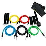 Fitness Resistance Bands - Heavy Duty Resistance Band Handles Resistance Bands Workout, Exercise