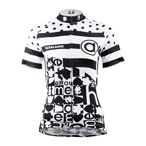 Multicolore Jacket Breathable Sports Women's Sleeve Top Short Bike Dry Jersey Shirt Black Quick Cycling White Moisture Wicking Clothing Outdoors Mountain 87IHqFS7w