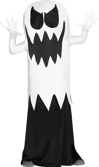 Fun World Floating Ghost Costume, Medium 8-10, Multicolor
