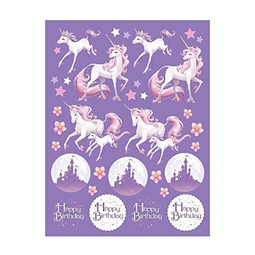Unicorn Fantasy Sticker Favors (4 Sheets) (Creative Halloween Costumes Ideas)