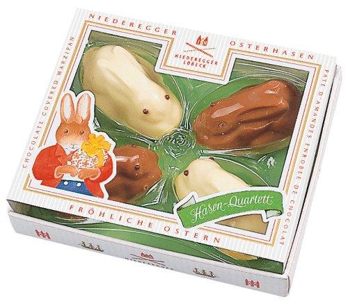 Niederegger Chocolate Covered Bunnies, 3.5-Ounce
