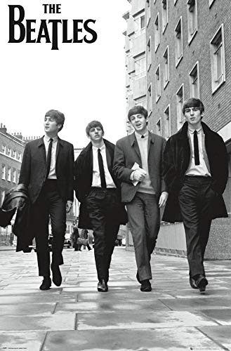 "Trends International The Beatles-in London Mount Bundle Wall Poster, 22.375"" x 34"""