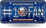 New York Islanders #1 Fan City Design 8402 Puck Metal Aluminum Novelty License Plate Tag NHL Hockey