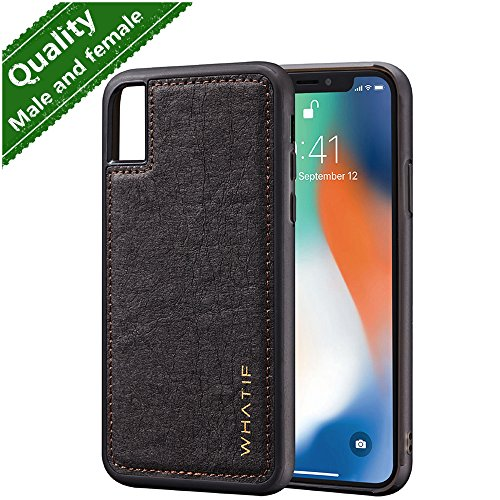 iPhone X Case,Phone Case Apple iPhone X 10 Protective Case Cover iPhone X Accessories Ultra Thin Durable Shockproof Sicilone TPU Cover Case Phone Protection Case iPhone X Men Women Black