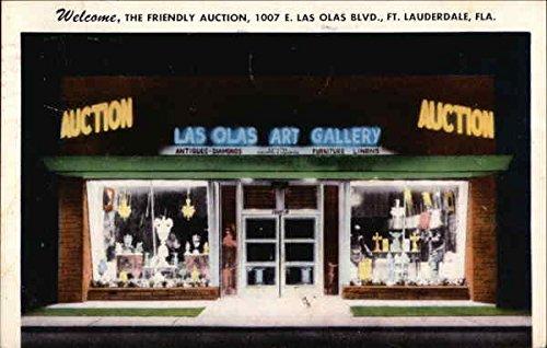 Las Olas Art Gallery Fort Lauderdale, Florida Original Vintage - Lauderdale Fort Olas Las