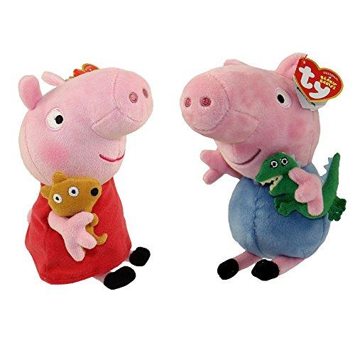 Ty Peppa Pig Mollie Mieze Katze 15cm Plüsch Stofftier Plüschtier Kuscheltier Stofftiere