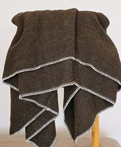 Ourson 11010037-220-R3 - Manta de lana virgen (220 x 240 cm)