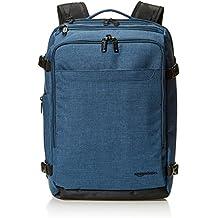 AmazonBasics Slim Carry On Travel Backpack, Green - Weekender