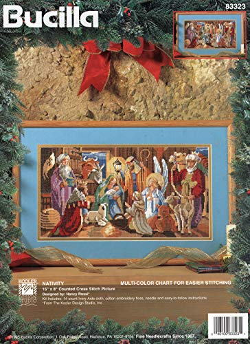 Bucilla - Nativity - Counted Cross Stitch Picture Kit 83323 -
