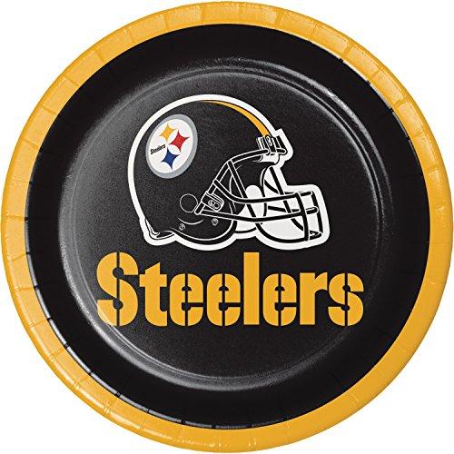 Pittsburgh Steelers Dessert Plates, 24 ct