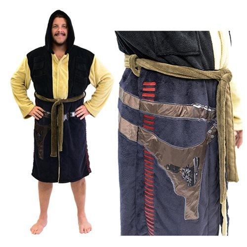 Star Wars Chewbacca Robe (The Robe Factory Star Wars Han Solo Fleece Costume Robe (One Size))