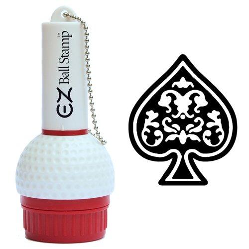 ProMarking EZBallStamp Golf Ball Stamp Marker (Black Spade)