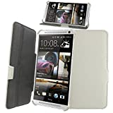 Celicious White Executive PU Leather Ultra-Slim Stand Case for HTC One Max