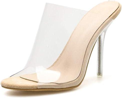 Mules Stiletto High Heel Sandals