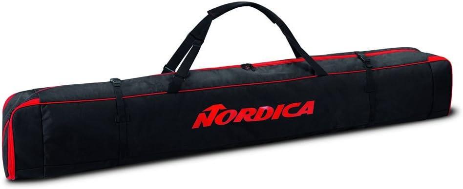 Nordica Single Ski Bag 2017 Black//Red
