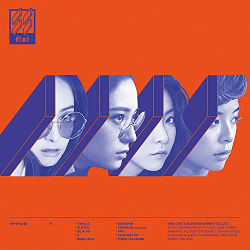 f(x) - 4 WALLS (Vol. 4) CD + Photo Booklet + Photocard + Extra Gift Photocards Set