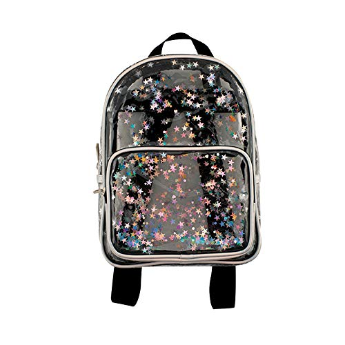 Fashion Angels Transparent Star Shaker Mini Backpack ()