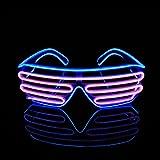 PINFOX Light Up Flashing Shutter Neon Rave