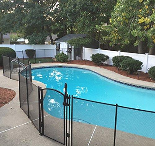 EZ-Guard 5' Tall Self Closing / Self Latching Pool Fence Gate