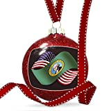 Christmas Decoration Friendship Flags USA and Washington region America (USA) Ornament