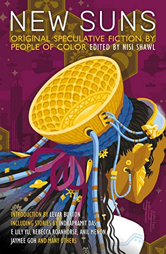 Book Cover: New Suns: Original Speculative Fiction by People of Color
