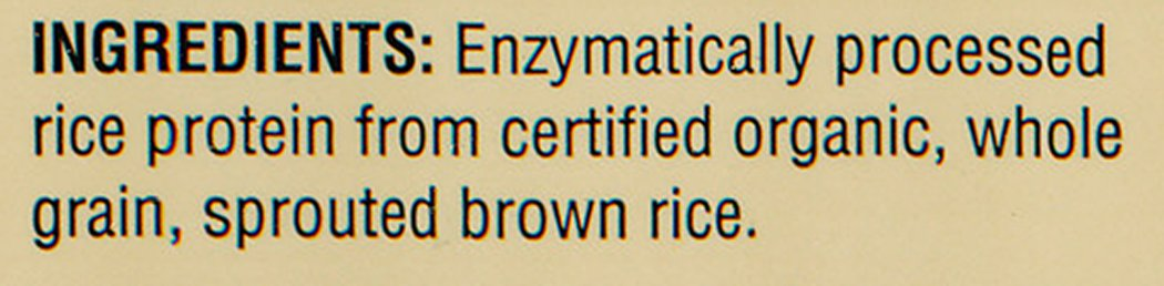 Nutribiotic Organic Rice Protein, Plain, 3 Pound by Nutribiotic (Image #3)