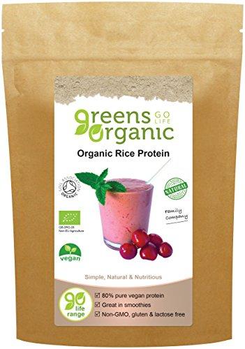 Golden Greens Organic Brown Rice Protein Powder 250g