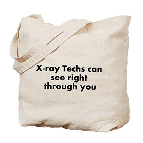 CafePress–X-Ray Tech–Borsa di tela naturale, panno borsa per la spesa