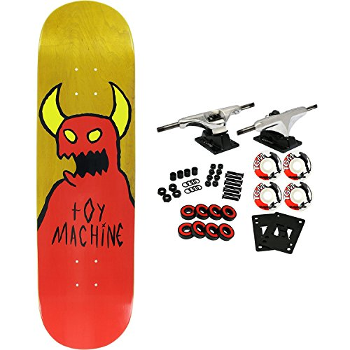 Toy Machine Skateboard Complete Sketchy Monster Assorted 8.375