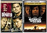 The Departed & No Country For Old Men DVD 2 Pack Double Feature Movie Set