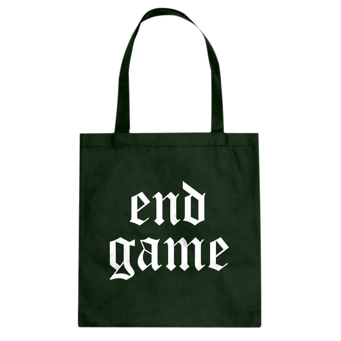 Indica Plateau End Game Cotton Canvas Tote Bag