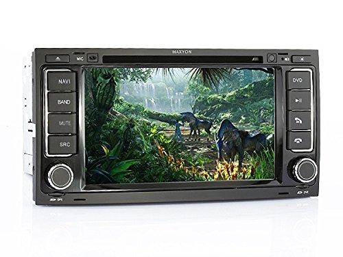MAXYON Silverstone II GPS para coche VW 17,78 cm DVD o CD SD ...