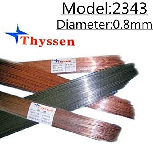 Jammas 1KG/Pack Thyssen 2343 of 0.8mm Laser Welding Wire for Welders T06705
