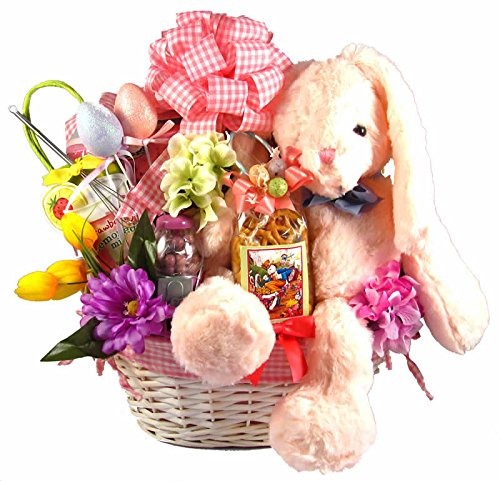 Great Bunny Easter Gift Basket for Girls by Organic Stores, Inc