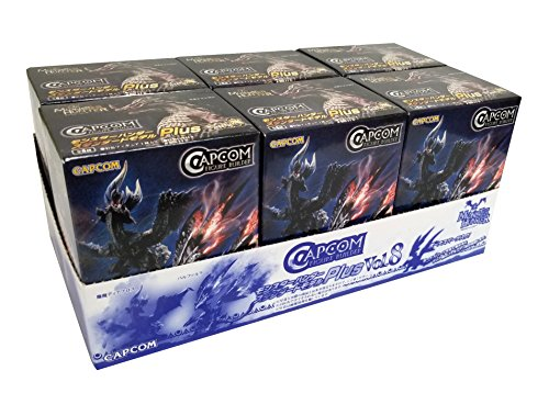 (Capcom Monster Hunter Plus Vol. 8 Blind Box Action Figures (Random Box Set of 6))