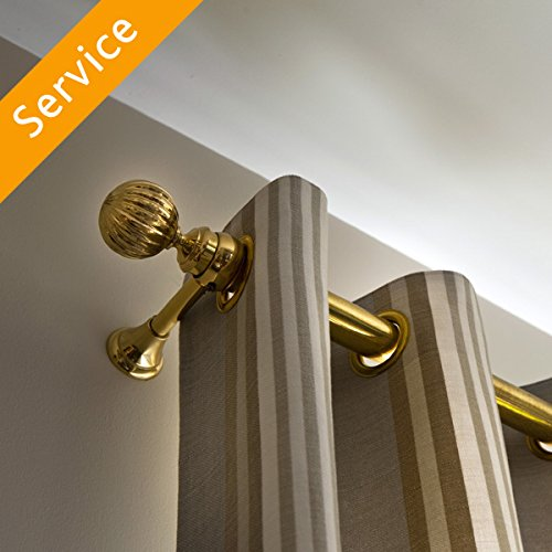 Curtain Rod Installation - Drywall - 2 Curtain Rods
