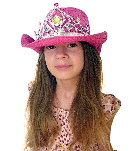 Princess Cowboy Costume Sparkling Tiara