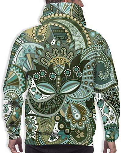 1Zlr2a0IG DIYHOME Autumn&Winter Boy's Novetly Sweatshirt,Ethnic Style 3D Digital Printed Hoodies