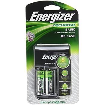 Amazon.com: Energizer Recharge Basic Charger with 2 AA