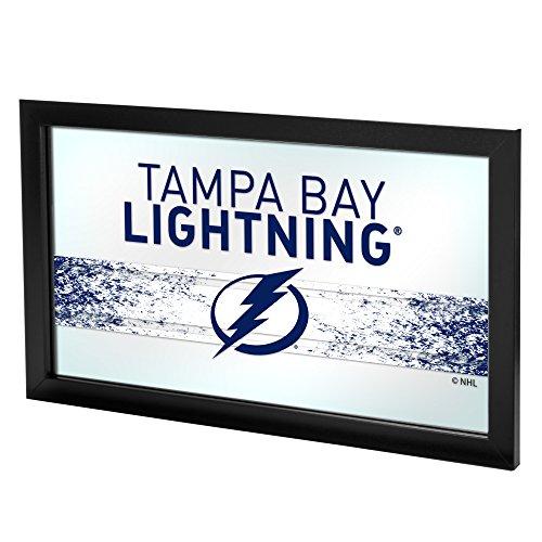 Trademark Gameroom NHL Tampa Bay Lightning Framed Logo Mirror
