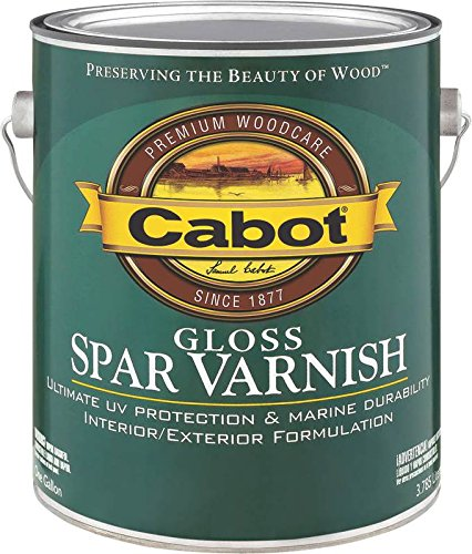 Cabot 144.0018040.007 VOC Gloss Spar Varnish Interior / Exterior - Oil-Based - 1