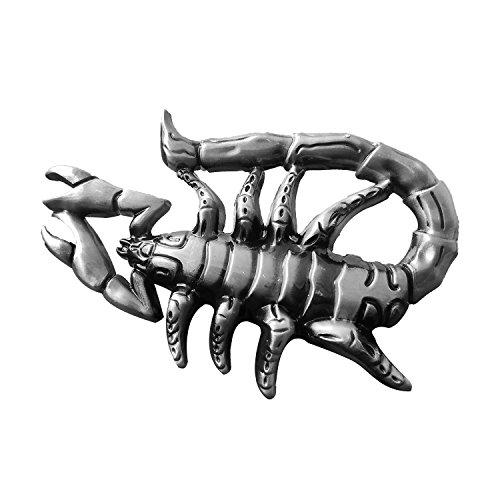 3d Belt Buckle (QUKE Native American Western Scorpion Shape 3D Belt Buckle)