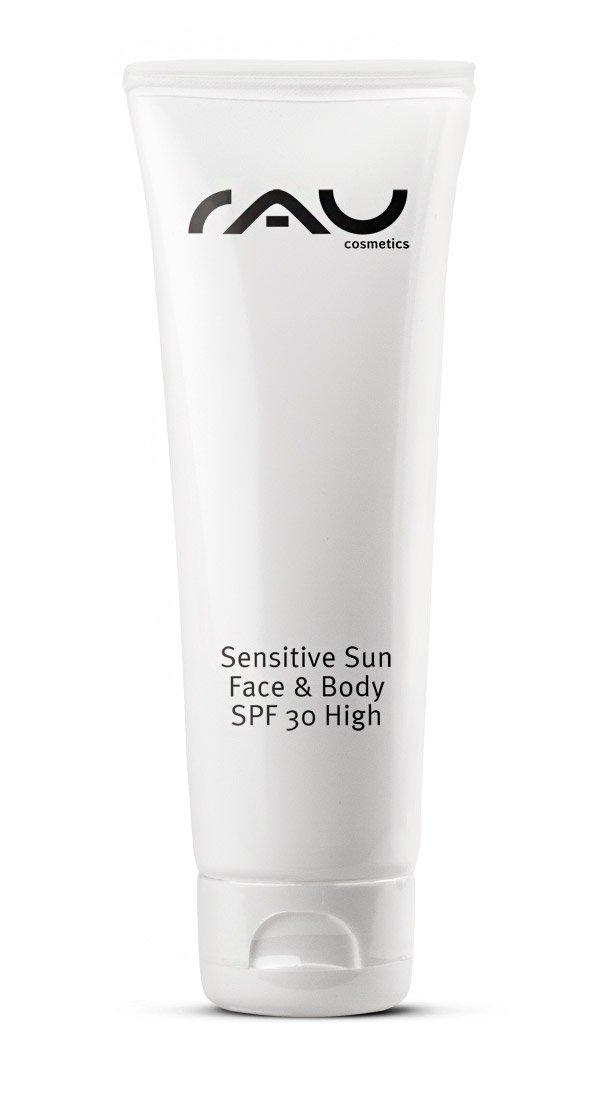 pflegende Sonnenschutzcreme mit Vitamin E - RAU Sensitive Sun Face & Body SPF 30 - 75 ml RAU Cosmetics